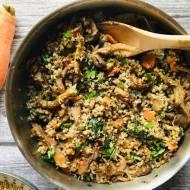 Przepis dnia: Kaszotto z boczniakami i marchewką