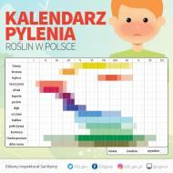 Kalendarz pylenia roślin w Polsce