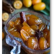 Kandyzowane kumkwaty z miodem, cynamonem, anyżem i likierem pomarańczowym