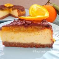 Pomarańczowy sernik z czekoladą (Cheesecake all'arancia e cioccolato)