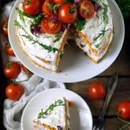 Wytrawny pomidorowy tort