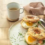 Bajgle z jajkiem