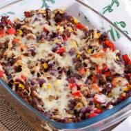 Zapiekanka burrito z wołowiną, fasolą i ryżem. Ale Meksyk! PRZEPIS