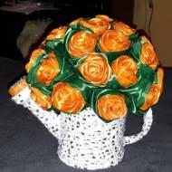 Róże w konewce