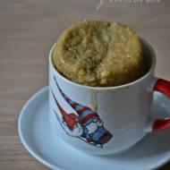 Coś dobrego dla jednego - z mikrofali: jagodowy muffin w kubeczku...