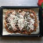 Keto pizza - trzecia wersja - najlepsza!