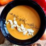 Zupa ekspresowa z dyni, marchewki i imbiru.