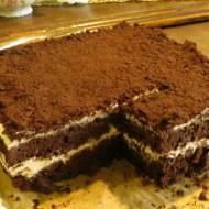 Ciasto kawowo- czekoladowe z grysikiem