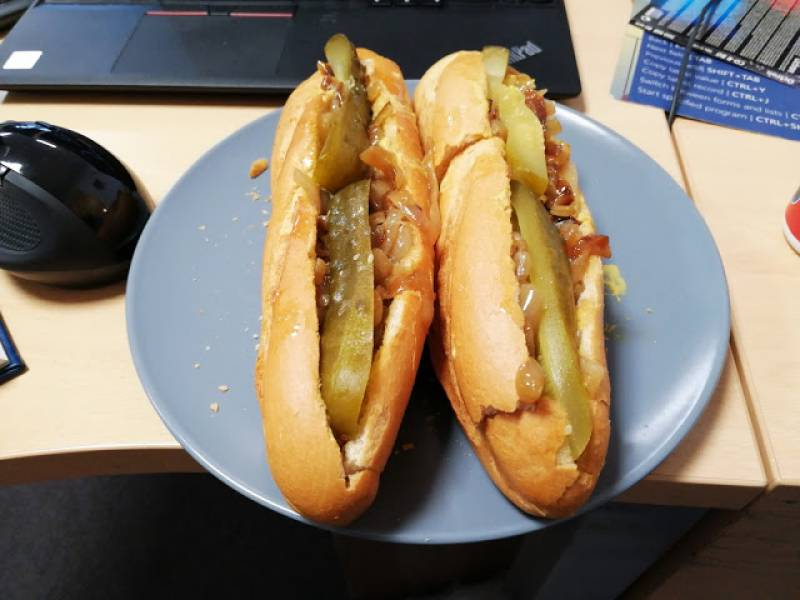 Polskie hot dogi z Chicago