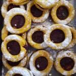 Ciasteczka z dżemową dziurką