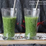 Bomba witaminowa - zielony koktajl zimowy