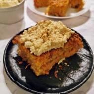 Ciasto marchewkowe z kremem z nerkowców