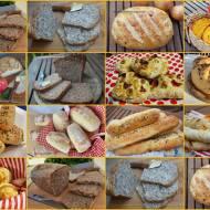 Domowe pieczywo - dużo różnych przepisów