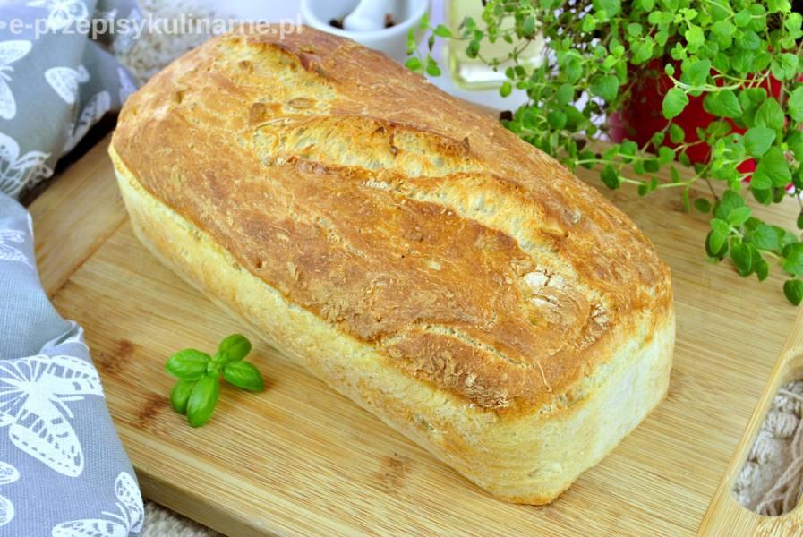 Chleb pszenny na suchych drożdżach – prosty i szybki przepis