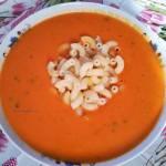 Zupa pomidorowa ze świeżych pomidorów, na maśle -najlepsza