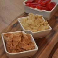 Hummus w 2 smakach