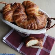 Klasyczne francuskie croissanty
