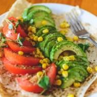 Zdrowa przekąska – tortilla z awokado