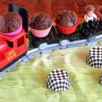 Babeczki czekoladowe z kawałkami czekolady