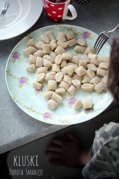 Kluski bez jajek i bez pszenicy