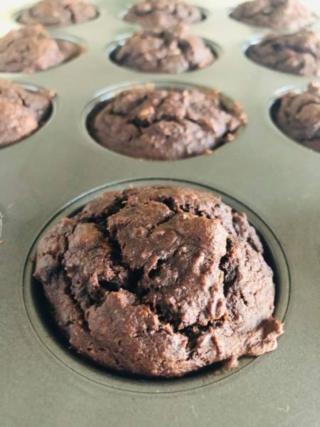 Muffiny z czerstwych bułek