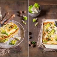 Kalafiorowa lasagne z gorgonzolą / Cauliflower lasagne with gorgonzola
