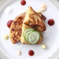 Wytrawny omlet warzywny