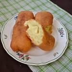 Paszteciki z serem smażone