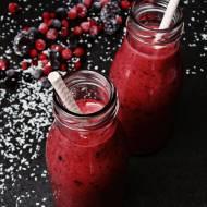 Koktajl z owoców leśnych -  TYLKO 120 kcal!