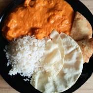 Madras curry, pyszne danie z piersi kurczaka.