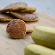 Placuszki bananowe- słodycz bez cukru.