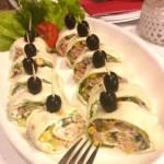 Rollsy z tortilli z tuńczykiem