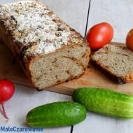 Chleb żytni z prażoną cebulką na zakwasie