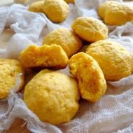Ciasteczka pomarańczowe z batatów