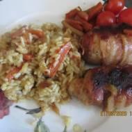 Filet z kurczaka z żurawiną i morelą