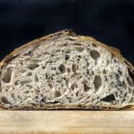 Chleb na zaczynie w formie sztywnej zacierki (35% wody)