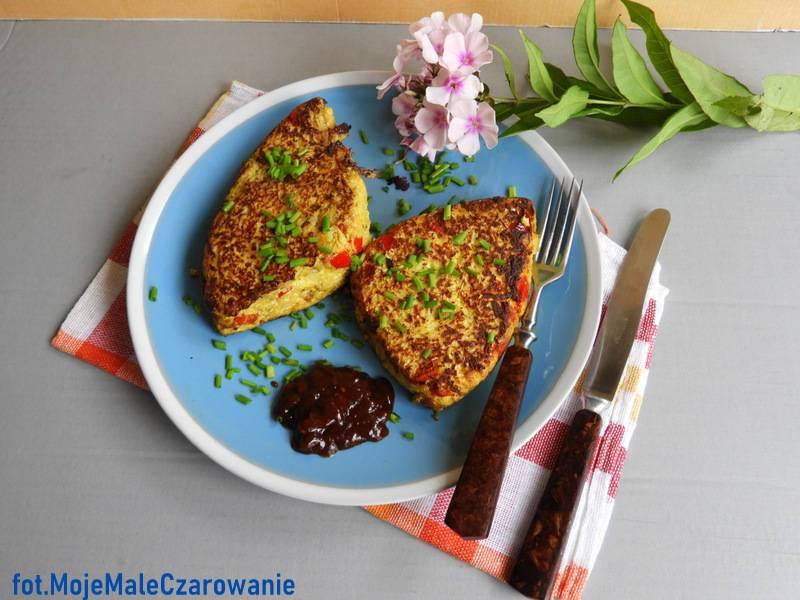 Omlet kalafiorowy