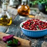 Sałatka zdrowia z buraka i marchewki