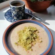 Afganistan - Kardamonowy budyń z pistacjami (Firnee)
