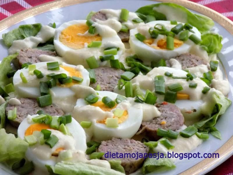 Sałatka-wielkanocne śniadanie