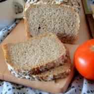 Chleb pszenno - żytni, na zakwasie i drożdżach