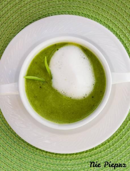 Zupa w 10 minut! Krem z mrożonego groszku