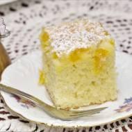 Ciasto ucierane z owocami – z zeszytu mamusi :)