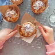 Muffiny z bananami i czekoladą, bez masła i jajek (Muffin con banane e cioccolato, senza burro e uova)