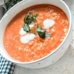 Dietetyczna warzywna zupa z kaszą jaglaną w 15 minut – nasz domowy hit