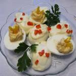 Jaja faszerowane z szynką