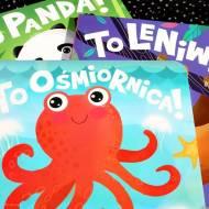 To panda! To leniwiec! To ośmiornica! Książeczki dla dzieci Barbary Supeł - recenzja
