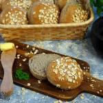 Bułki pszenno-gryczane