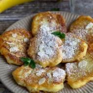 Bananowe placuszki z kaszy manny