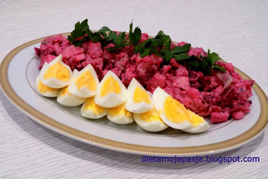 Wielkanocna sałatka z burakiem